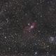 Bubble Nebula and M52,                                Yves Gauthier