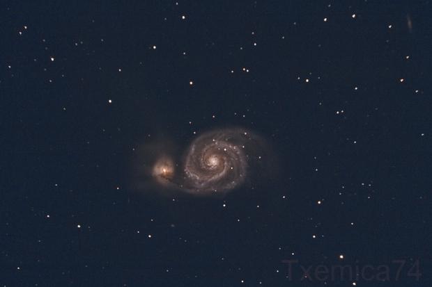 M51 Whirlpool Galaxy,                                Txema Asensio