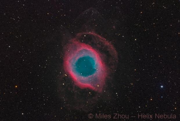 Helix Nebula (Eye of God),                                Miles Zhou