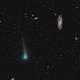 Comet C/2017 PanSTARRS now swings by M106,                                Dan Bartlett