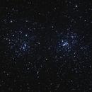 NGC 869 et NGC 884 - Double Amas de Persée,                                Julien Lana
