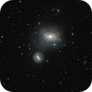 M85 and NGC 4394 in LRGB,                                MicRaWi