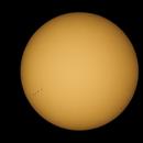 Transit de Mercure devant le Soleil,                                Nicolas JAUME