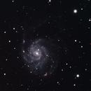 M101 in HaRGB,                                sletmoep