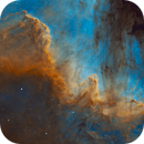 Cygnus Wall | A Portion of NGC 7000,                                Kevin Morefield