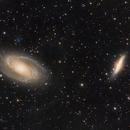 Crop of M81/M82 widefield,                                Jim Lafferty