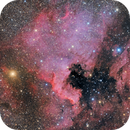 NGC 7000 RGB 2 Panel Mosaic,                                Casey Good
