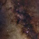 Sagittarius, Scutum and Serpens Border (Mosaic),                                sergio.diaz