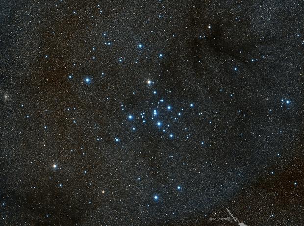 ? a tiny Planetary Nebula near Ptolemy's Cluster (M7),                                Todd