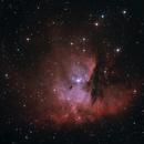 NGC281 - Pacman Nebula,                                BrunoD