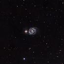 M51 Whirlpool Galaxy,                                autonm