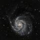 "Messier 101 - with Edge HD 8"", ASI294MC,                                Doc_HighCo"