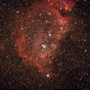 ic 1848 - soul nebulae - nebulosa anima,                                ixio