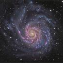 M101 Ha-LRGB,                                sky-watcher (johny)