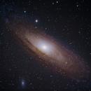NGC224 (M31, Andromeda-Galaxy) und NGC205 (M110) und NGC221 (M32),                                wittinobi