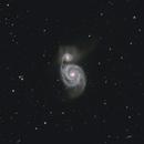The Whirlpool Galaxy, M51 (NGC 5194),                                Steven Bellavia