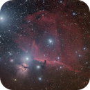 IC 434 Horse Head Nebula LRGB (with some clouds),                                Alberto Pisabarro