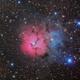 LRGB M20 Triffid Nebula,                                Ryan Fraser