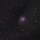 Messier 101 The Pinwheel Galaxy HaRGB Composite,                                Norm Fox