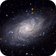 M33 Triangulum Galaxy (RGB),                                John Sasser