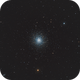 M13 Great star cluster on Hercules,                                Lorenzo Taltavull...