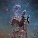 "The Pillars of Creation with 24"",                                KuriousGeorge"