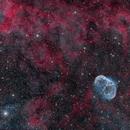 Crescent Nebula and More,                                DeepSkyView