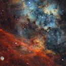 Sh2-115 and the wannabe planetary nebula Sh2-116,                                Jonathan Piques