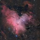 M16 - NGC 6611 - The Pillars of Creation detail,                                Niall MacNeill