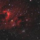The Cave Nebula (Ha + RGB),                                Scott Davis