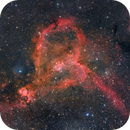 """Heart Nebula"" with DSLR,                                Michael S."