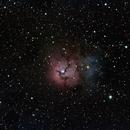 Messier 20 - Trifid Nebula,                                Eric Watson