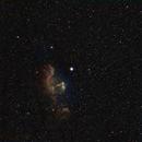 """""""Ghost of Cassiopeia"""" in HST palette,                                Gordon Haynes"""