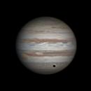 Callisto's shadow on Jupiter,                                Jim Thurston