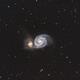 Whirlpool Galaxy,                                Tertsi