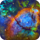 NGC 896 in narrowband,                                tonyhallas