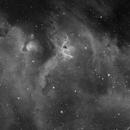 IC 1848 Mosaic in H-alpha,                                Samuli Vuorinen