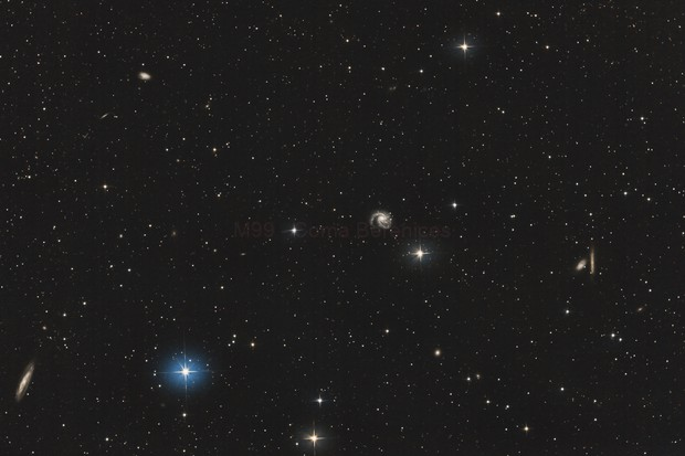M99 - Coma Berenices,                                Emmanuel Fontaine