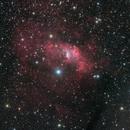 NGC 7635 (Bubble Nebula) and NGC 7538,                                Paul MacAree