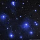 M45 - Pleiades ,                                Tiago Ramires Domezi