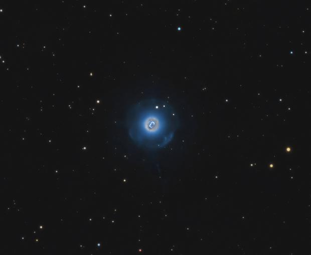 NGC 7662 • Blue Snowball Planetary Nebula,                                Douglas J Struble