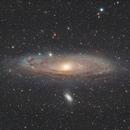 Andromeda Galaxy,                                Alessandro Iannacci