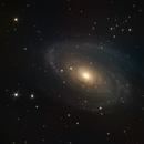 M81 Bode's Galaxy,                                Tristram