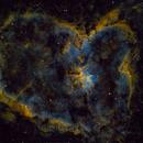 IC 1805 - The Heart Nebula (Narrowband),                                Starlancer