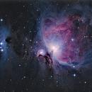 Great Orion nebula and running man HDR,                                bzizou