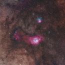 Trifid & Laguna nebula,                                Adrien Klamerius