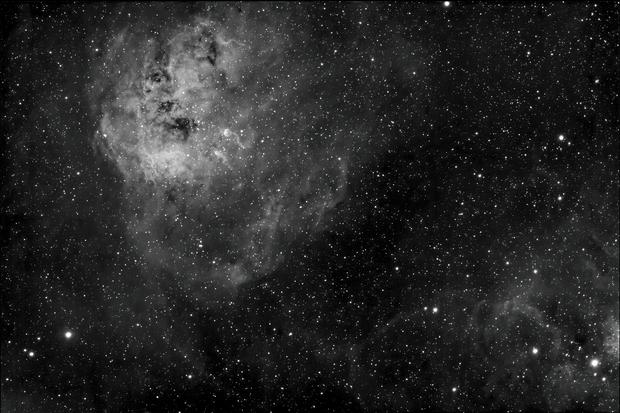 Tadpole Nebula in Ha,                                Mike