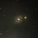 Galáxia do Redemoinho (M51),                                Geovandro Nobre