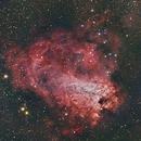 Messier 17,                                Yannick Juillet
