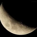 Moon 01Apr2017, single frame,                                Craig Emery
